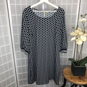 Tacera Women's Polka Dot Dress Size XLarge